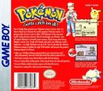 GameBoy - Pokemon Red Version (back)