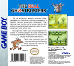 GameBoy - Real Ghostbusters (back)