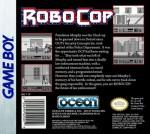 GameBoy - RoboCop (back)