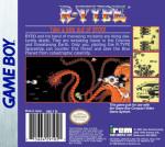 GameBoy - R-Type (back)