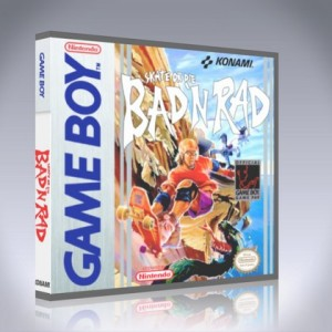 GameBoy - Skate or Die: Bad 'N Rad