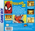 GameBoy - Spider-Man 2 (back)