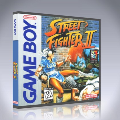 GameBoy - Street Fighter II
