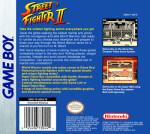 GameBoy - Street Fighter II (back)