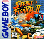 GameBoy - Street Fighter II (front)