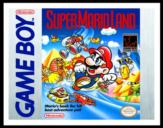 GameBoy - Super Mario Land Poster