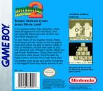 GameBoy - Super Mario Land 2: 6 Golden Coins (back)