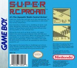 GameBoy - Super R.C. Pro-Am (back)