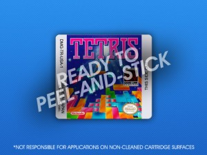 GameBoy - Tetris Label