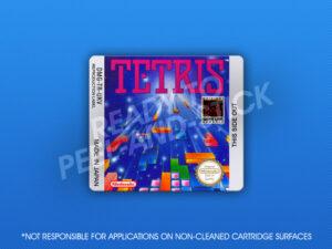 GameBoy - Tetris (UK Version) Label