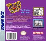 GameBoy - Tetris Blast (back)