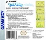 GameBoy - Tiny Toon Adventures: Babs' Big Break (back)