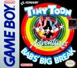 GameBoy - Tiny Toon Adventures: Babs' Big Break (front)