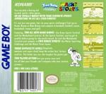 GameBoy - Tiny Toon Adventures: Wacky Sports (back)
