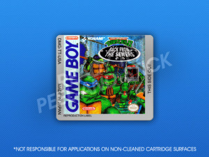 GameBoy - Teenage Mutant Ninja Turtles II: Back from the Sewers