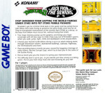 GameBoy - Teenage Mutant Ninja Turtles II: Back From The Sewers (back)