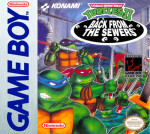 GameBoy - Teenage Mutant Ninja Turtles II: Back From The Sewers (front)