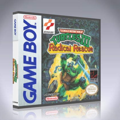 GameBoy - Teenage Mutant Ninja Turtles III: Radical Rescue