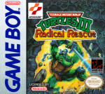 GameBoy - Teenage Mutant Ninja Turtles III: Radical Rescue (front)