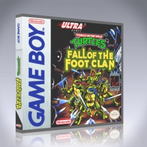 GameBoy - Teenage Mutant Ninja Turtles: Fall of the Foot Clan