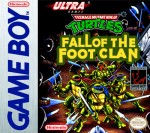 GameBoy - Teenage Mutant Ninja Turtles: Fall of the Foot Clan (front)