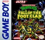 GameBoy - Teenage Mutant Ninja Turtles: Fall of the Foot Clan (front)