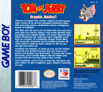 GameBoy - Tom and Jerry: Frantic Antics! (back)