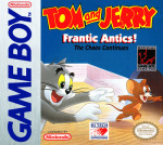 GameBoy - Tom and Jerry: Frantic Antics! (front)