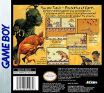 GameBoy - Turok: Battle of the Bionosaurs (back)