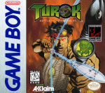 GameBoy - Turok: Battle of the Bionosaurs (front)