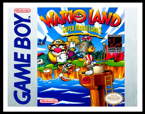GameBoy - Wario Land Poster