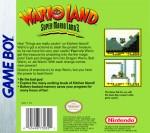 GameBoy - Wario Land: Super Mario Land 3 (back)