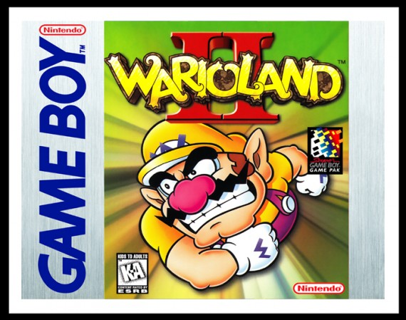 GameBoy - Wario Land II Poster