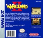 GameBoy - Wario Land II (back)