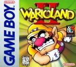 GameBoy - Wario Land II (front)