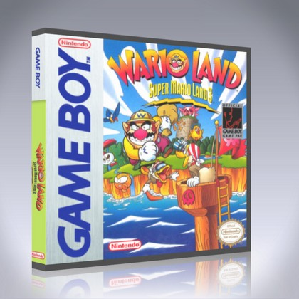 GameBoy - Wario Land: Super Mario Land 3