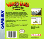 GameBoy - Wario Land: Super Mario Land 3 (back)