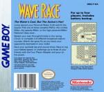 GameBoy - Wave Race (back)