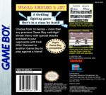 GameBoy - World Heroes 2 Jet (back)