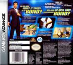 GameBoy Advance - 007: NIghtfire (back)