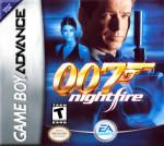 GameBoy Advance - 007: NIghtfire (front)