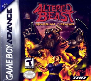 GBA - Altered Beast: Guardian of the Realms (front)