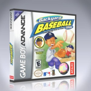GameBoy Advance - Backyard Baseball 2006