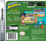 GameBoy Advance - Backyard Baseball 2006 (back)