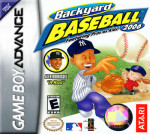GameBoy Advance - Backyard Baseball 2006 (front)