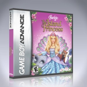 GameBoy Advance - Barbie as the Island Princess