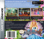 GameBoy Advance - Barbie as the Island Princess (back)