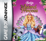 GameBoy Advance - Barbie as the Island Princess (front)