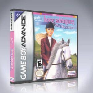 GameBoy Advance - Barbie Software Horse Adventures Blue Ribbon Race