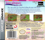 GameBoy Advance - Barbie Software Horse Adventures Blue Ribbon Race (back)
